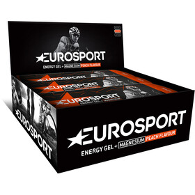 Eurosport nutrition Energy Gel + Magnesium Box 20 x 40g, peach
